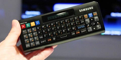 controle remoto QWERTY Samsung